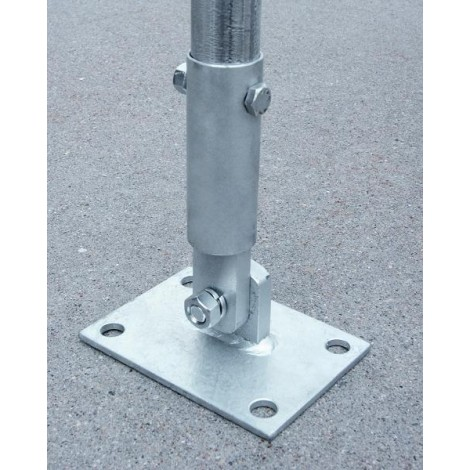 "Heavy Duty Base Plates for 1.315""/1.660"" OD pipe"