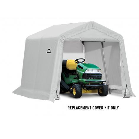 ShelterLogic Replacement Cover Kit 10x10x8 Peak 14.5oz PVC White
