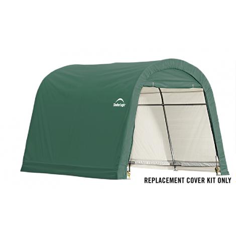 ShelterLogic Replacement Cover Kit 10x10x8 Round 21.5oz PVC Green