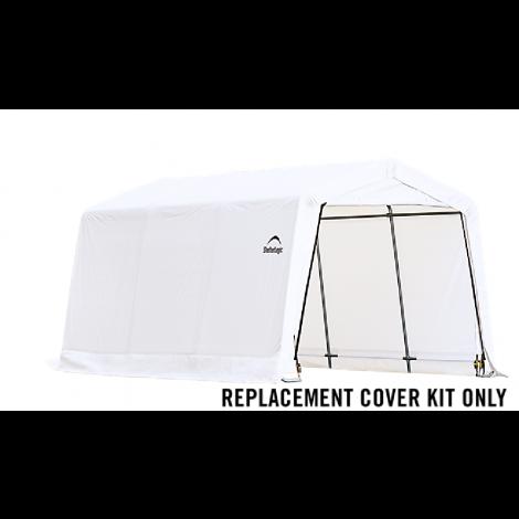 ShelterLogic Replacement Cover Kit 10x15x8 Peak 21.5oz PVC White