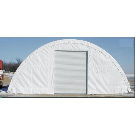 ClearSpan Storage Master SolarGuard - 38'W x 100'L  x 15'H  White