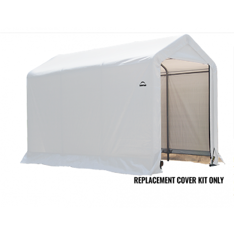 ShelterLogic Replacement Cover Kit 6x10x6.5 Peak 14.5oz PVC White