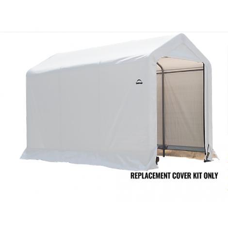 ShelterLogic Replacement Cover Kit 6x10x6.5 Peak 21.5oz PVC White