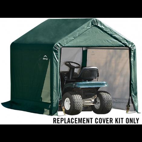 ShelterLogic Replacement Cover Kit 6x6x6.5 Peak 14.5oz PVC Green