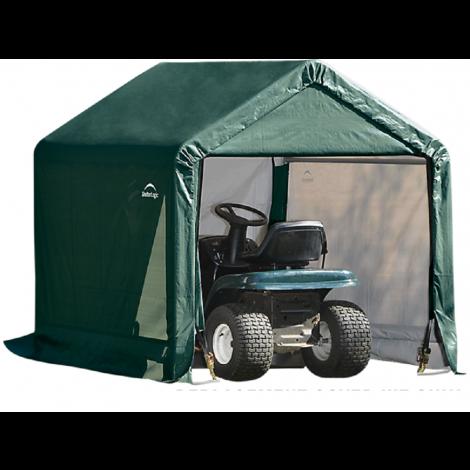 ShelterLogic Replacement Cover Kit 6x6x6.5 Peak 21.5oz PVC Green