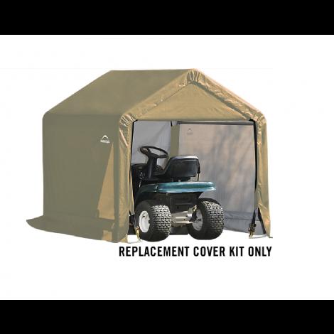 ShelterLogic Replacement Cover Kit 6x6x6.5 Peak 14.5oz PVC Tan
