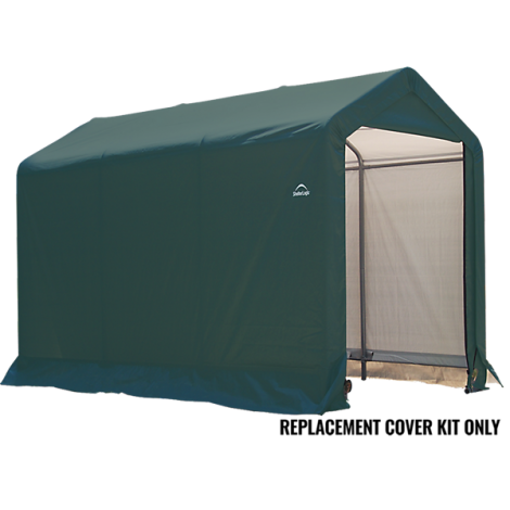 ShelterLogic Replacement Cover Kit 6x10x6.5 Peak 21.5oz PVC Green