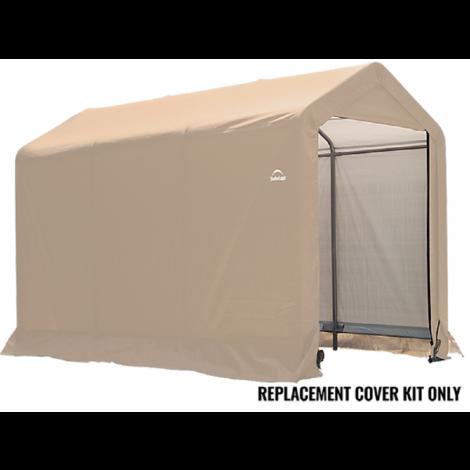 ShelterLogic Replacement Cover Kit 6x10x6.5 Peak 14.5oz PVC Tan