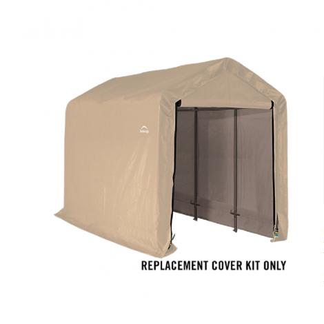ShelterLogic Replacement Cover Kit 6x12x6.5 Peak 14.5oz PVC Tan