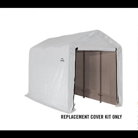 ShelterLogic Replacement Cover Kit 6x12x6.5 Peak 21.5oz PVC White