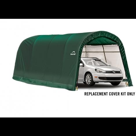 ShelterLogic Replacement Cover Kit 10x20x8 Round 14.5oz PVC Green