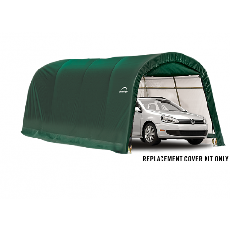 ShelterLogic Replacement Cover Kit 10x20x8 Round 21.5oz PVC Green