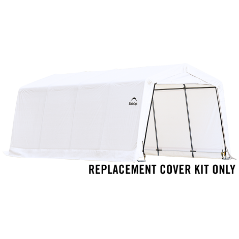 ShelterLogic Replacement Cover Kit 10x20x8 Peak 21.5oz PVC White