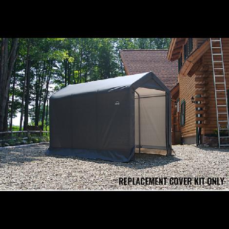 ShelterLogic Replacement Cover Kit 6x10x6.5 Peak 7.5oz Grey