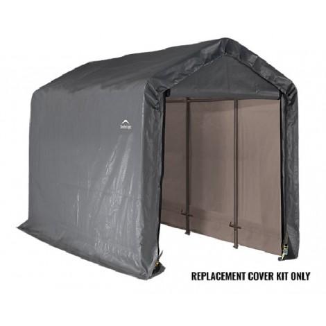ShelterLogic Replacement Cover Kit 6x12x8 Peak 14.5oz PVC Grey
