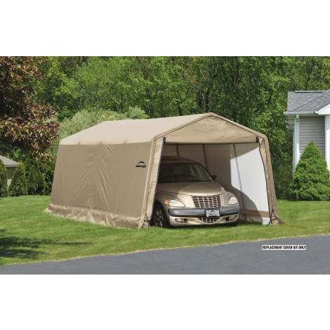 ShelterLogic Replacement Cover Kit 10x20x8 Peak 14.5oz PVC Tan