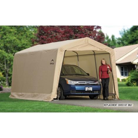 ShelterLogic Replacement Cover Kit 10x15x8 Peak 14.5oz PVC Tan