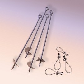 "30"" Auger Anchor Kit Set of 4"