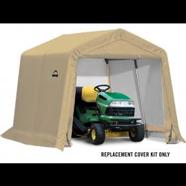 ShelterLogic Replacement Cover Kit 10x10x8 Peak 14.5oz PVC Tan