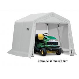 ShelterLogic Replacement Cover Kit 10x10x8 Peak 21.5oz PVC White