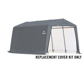 ShelterLogic Replacement Cover Kit 10x15x8 Peak 14.5oz PVC Grey