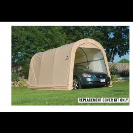 ShelterLogic Replacement Cover Kit 10x15x8 Round 14.5oz PVC Tan