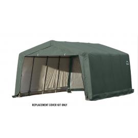 ShelterLogic Replacement Cover Kit 12x16x8 Peak 14.5oz PVC Green