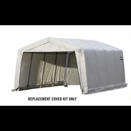 ShelterLogic Replacement Cover Kit 12x16x8 Peak 21.5oz PVC White