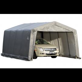 ShelterLogic Replacement Cover Kit 12x16x8 Peak 14.5oz PVC Gray