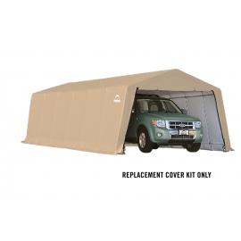 ShelterLogic Replacement Cover Kit 12x24x8 Peak 14.5oz PVC Tan