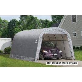 ShelterLogic Replacement Cover Kit 12x20x8 Round 7.5oz Grey