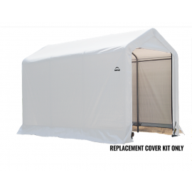ShelterLogic Replacement Cover Kit 6x10x6.5 Peak 21.5oz PVC White