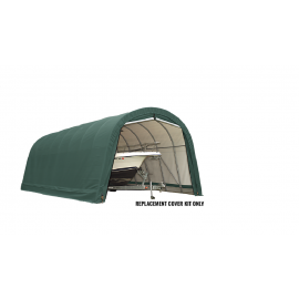 ShelterLogic Replacement Cover Kit 15x40x16 Round 21.5oz PVC Green