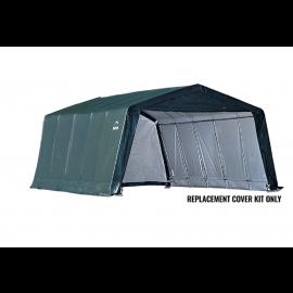 ShelterLogic Replacement Cover Kit 12x20x8 Peak 7.5oz Green