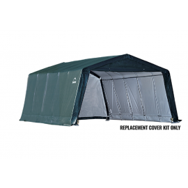 ShelterLogic Replacement Cover Kit 12x20x8 Peak 21.5oz PVC Green
