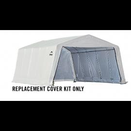 ShelterLogic Replacement Cover Kit 12x20x8 Peak 21.5oz PVC White