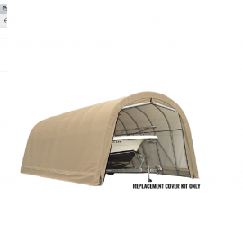 ShelterLogic Replacement Cover Kit 14x32x12 Round 14.5oz PVC Tan