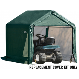 ShelterLogic Replacement Cover Kit 6x6x6.5 Peak 14.5oz PVC Green