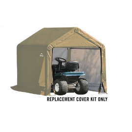 ShelterLogic Replacement Cover Kit 6x6x6.5 Peak 14.5oz PVC Tan