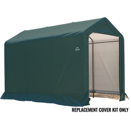 ShelterLogic Replacement Cover Kit 6x10x6.5 Peak 14.5oz PVC Green