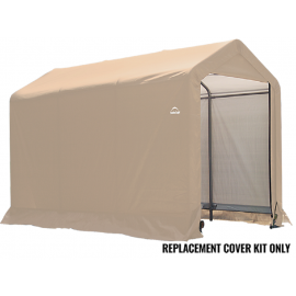 ShelterLogic Replacement Cover Kit 6x10x6.5 Peak 14.5oz PVC Tan
