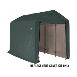 ShelterLogic Replacement Cover Kit 6x12x6.5 Peak 21.5oz PVC Green