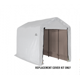 ShelterLogic Replacement Cover Kit 6x12x6.5 Peak 21.5oz PVC White
