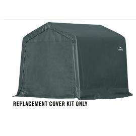 ShelterLogic Replacement Cover Kit 8x8x8 Peak 14.5oz PVC Green