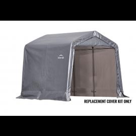 ShelterLogic Replacement Cover Kit 8x8x8 Peak 14.5oz PVC Gray