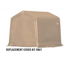 ShelterLogic Replacement Cover Kit 8x8x8 Peak 14.5oz PVC Tan