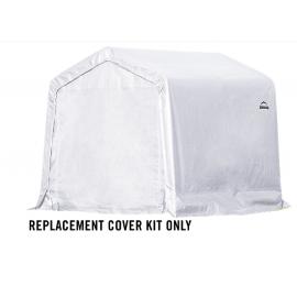 ShelterLogic Replacement Cover Kit 8x8x8 Peak 21.5oz PVC White