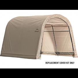 ShelterLogic Replacement Cover Kit 10x10x8 Round 14.5oz PVC Tan
