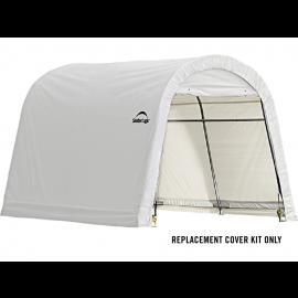 ShelterLogic Replacement Cover Kit 10x10x8 Round 21.5oz PVC White