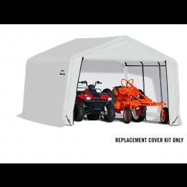 ShelterLogic Replacement Cover Kit 12x12x8 Peak 21.5oz PVC White
